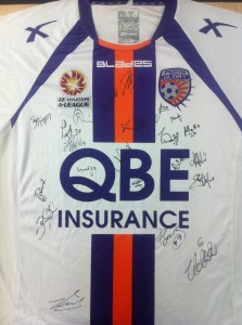 Perth Glory 2012/13 signed A League shirt