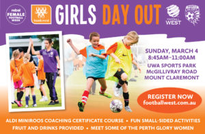 Football West Girls Day Out 2018