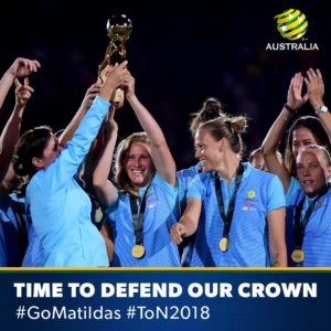 Matildas Defend ToN 2018